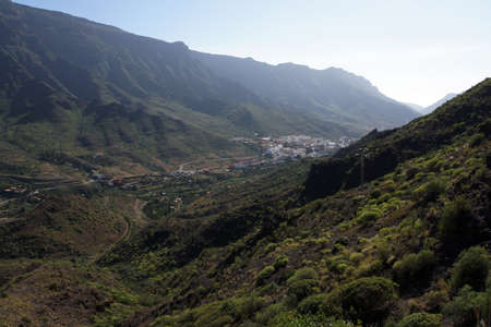View of Mogan in the homonymous valley, Gran Canaria, Canary Islands, Spain