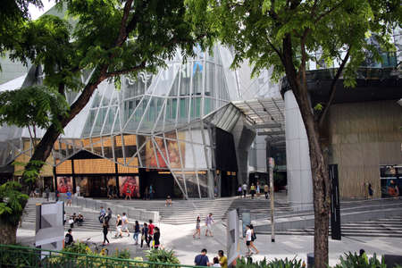 Consumption temple at Orchard Road, Singapore