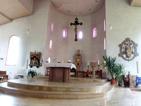 St. Hubertus Church Hilgerath, Neichen, Rhineland-Palatinate, Germany