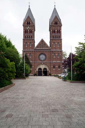 Catholic parish church of St. Germanus, Wesseling, North Rhine-Westphalia, Germany