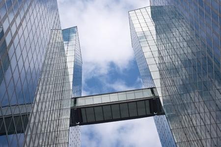 Foto de Modern Office Building as Urban Corporate Architecture - Imagen libre de derechos