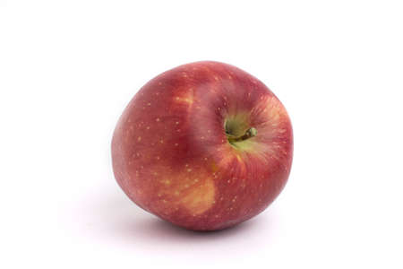 Photo for red apple isolated on a white background - Royalty Free Image