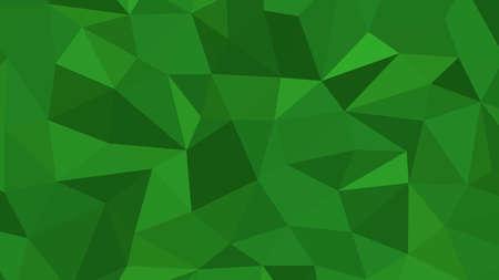 Ilustración de Forest Green abstract background in polygonal style, geometric vector - Imagen libre de derechos