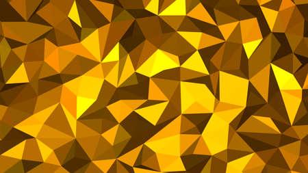 Photo pour Orange abstract background. Geometric vector illustration. Colorful 3D wallpaper. - image libre de droit