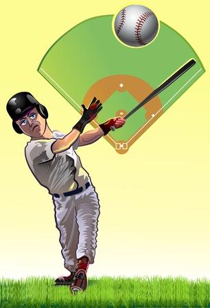 Baseball Batter cartune