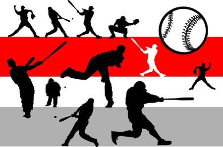 Baseball game set