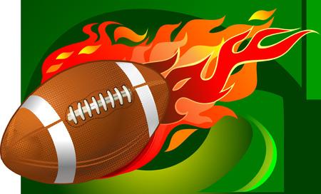 American Football fireball