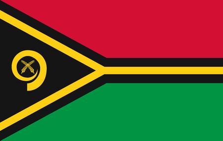 Illustration pour Vector Vanuatu flag page symbol for your web site design Vanuatu flag logo, app, UI. Vanuatu flag Vector illustration, EPS10. - image libre de droit