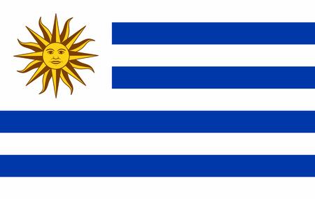Illustration pour Vector Uruguay flag, Uruguay flag illustration, Uruguay flag picture, Uruguay flag image - image libre de droit
