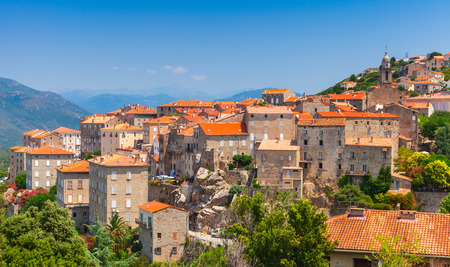 Foto de Ancient town landscape. Sartene, South Corsica, France - Imagen libre de derechos