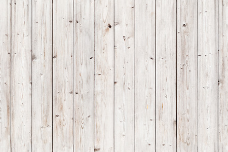 Foto de Old white wooden wall. Seamless background photo texture - Imagen libre de derechos
