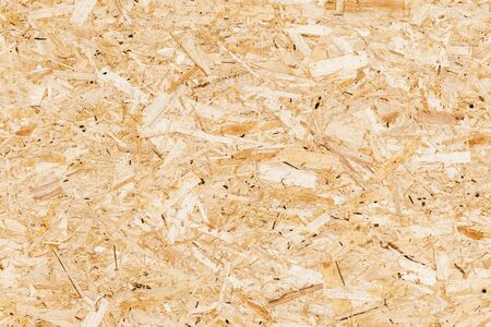 Photo pour Wooden oriented strand board or OSB. Sterling board seamless background photo texture - image libre de droit