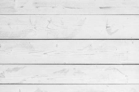 Photo for White wooden wall made of flat planks. Frontal background photo texture - Royalty Free Image