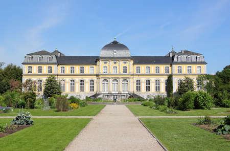 Photo pour Poppelsdorf Palace in Bonn. It was constructed from 1715 till 1746, under design by the Frenchman Robert de Cotte. - image libre de droit