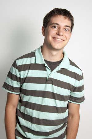 Teen boy portrait
