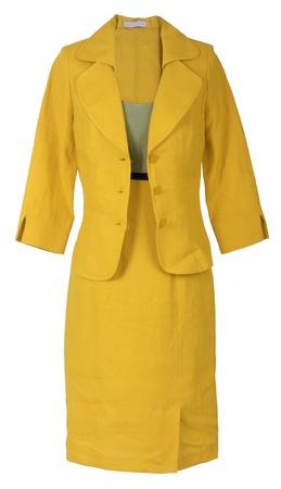 yellow costume