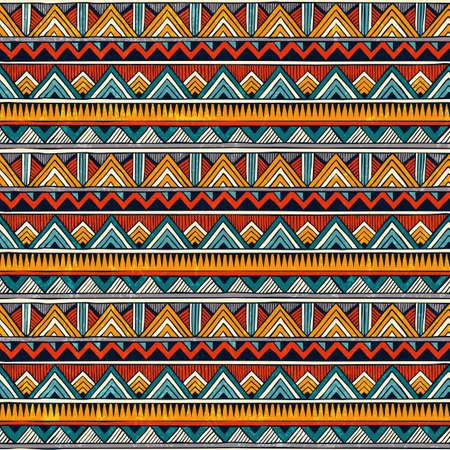 Illustration pour Tribal pattern. - image libre de droit