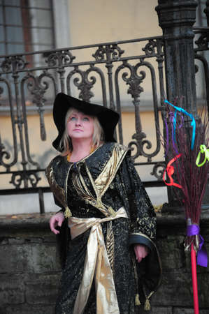 witch is near the old mansion