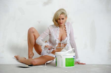 sexy blonde