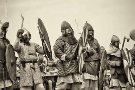 annual military-historical festival early Middle Ages First Capital of Russia.