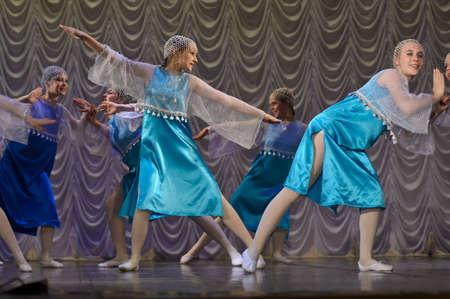 Russian children s dance group