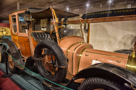 Car and carriage caravan museum, Lurey, USA.