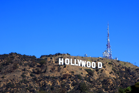The Hollywood Sign on Mount Lee, los Angeles, USA
