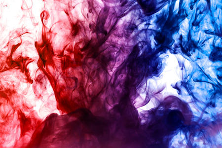 dense multicolored smoke of blue and red colors on a white isolated background background of smoke vape royalty free images photos and pictures dense multicolored smoke of blue and