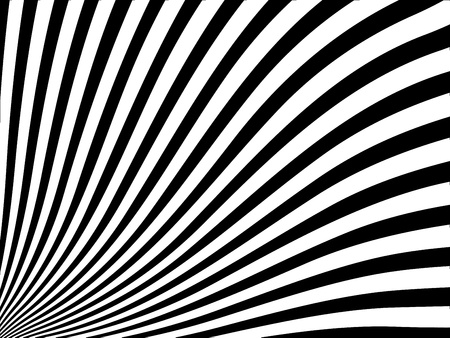 Abstract vector striped background with black and white stripes
