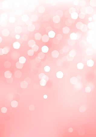 Vertical pink blurred background with graphic elements