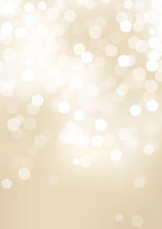 Vertical beige blurred background with graphic elements