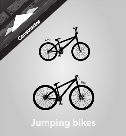 Jumping bikes.In addition graphical format all bikes assembly.