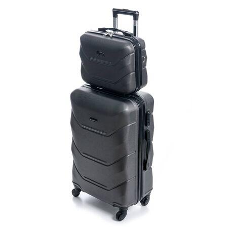 Foto de Black travel suitcases - Imagen libre de derechos