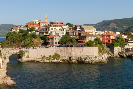 Traditional houses from Amasra, Bartın