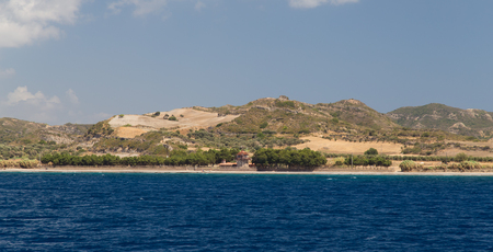 Hills in Aegean Coast of Turkey