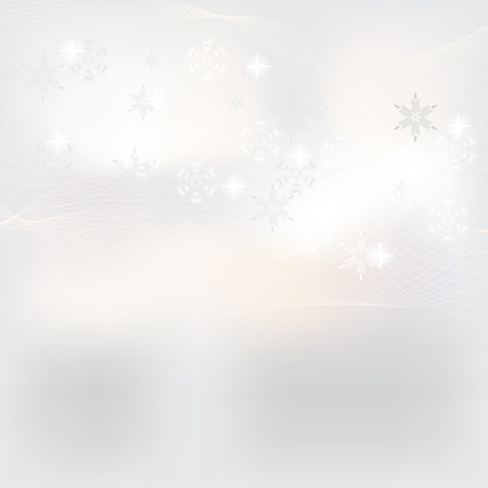 Abstract white winter background