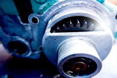 Photo pour Mechanics concepts Mechanical engineering Engine sprocket Automotive industry - image libre de droit