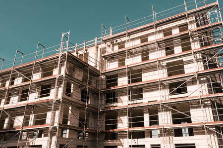 Photo pour building construction. big building construction - image libre de droit