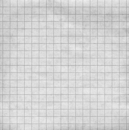 Blank sheet of a paper with a grey grid