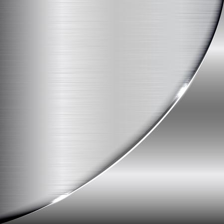 Elegant metallic background. Vector metallic background for your design and ideas.
