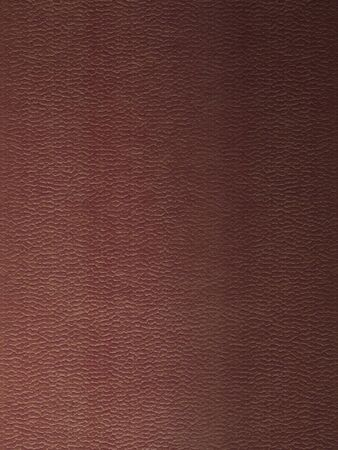 Closeup texture of luxury brown leather with detail