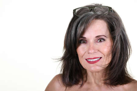 Photo for Portrait of a Beautiful Mature Woman - Royalty Free Image