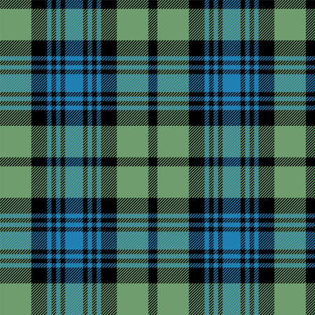 Black Watch Scottish tartan wallpaper that repeats left, right, up and down