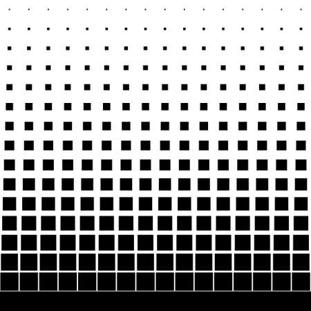 Illustration for gradient seamless background with black square - Royalty Free Image