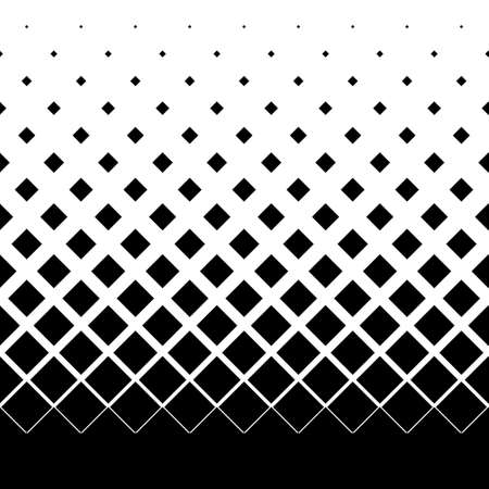 Illustration for gradient seamless background with black rhombuses - Royalty Free Image