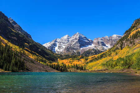 Maroon Bells White River National Forest Colorado