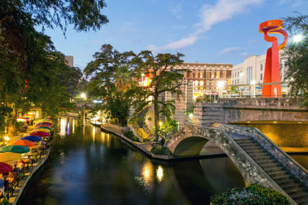 Foto de River Walk in San Antonio, Texas - Imagen libre de derechos