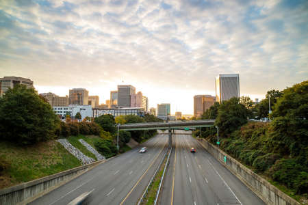 Photo for Downtown Richmond, Virginia skyline at twilight. - Royalty Free Image