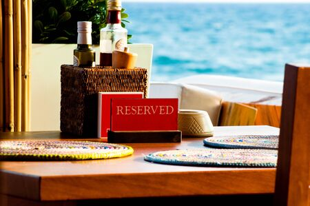 Reservation for the best sea view and Mediterranean atmosphere