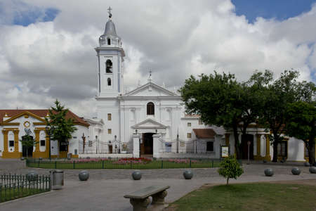 The church of our lady of Pilar, built i 1732 by the monks in the quartier of Recoleta in Buenos Aires
